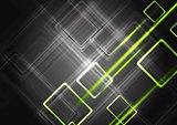 Colourful shiny vector tech design