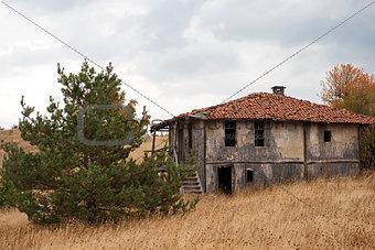 Abandoned mountain house