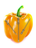 Orange bell pepper