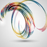 Abstract swirl background
