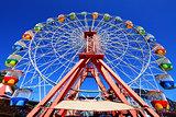 Carnival Fairground Ferris Wheel