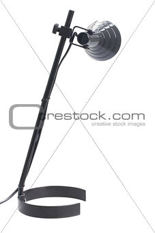one black lamp