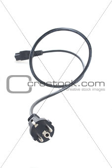 one electric cable with plug