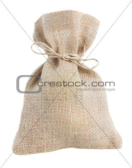 closed sack bag