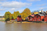 Finland. Autumn in Porvoo
