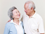 senior asian couple