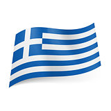 State flag of Greece.