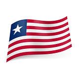 State flag of Liberia.