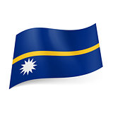 State flag of Nauru.