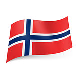 State flag of Norway.