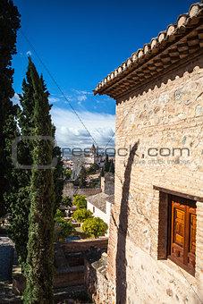 Arab palace in Granada