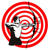 Archer Bow Arrow Target