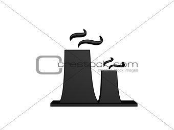 black power plant funnel
