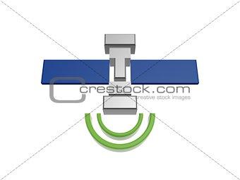 satellite and signal