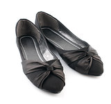 Black casual woman shoes