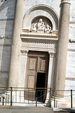 Entrance Leaning Tower Pisa
