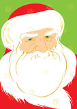 Father Christmas illustration