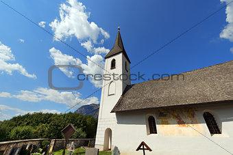 Small Gothic Church, Oberschütt Austria