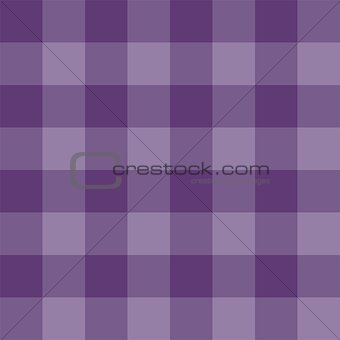 Seamless violet vector background - checkered pattern or grid texture.