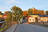 Finland.  Porvoo in autumn