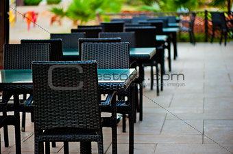 Interior street restaurant