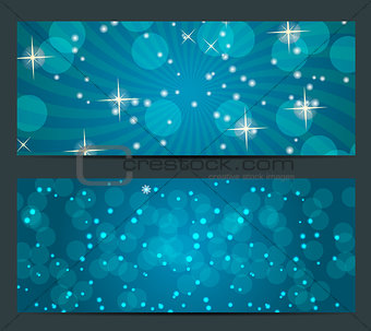 Abstract beauty Christmas and New Year background. vector illust