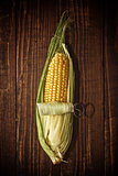 Ear of corn opening