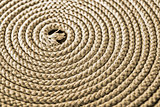 Nautical rope in spiral