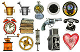 various object - sign - icon