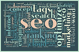 SEO concept tag cloud