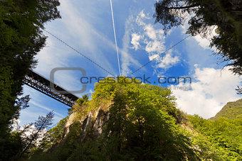 Slizza (Gailitz) Canyon in Tarvisio Italy