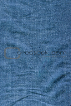 folded denim texture