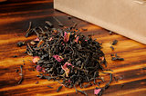 Rose infused black tea