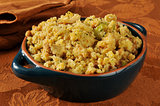Cornbread stuffing with Turkey