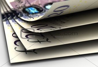 Pound Close-up