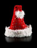santa hat with stars