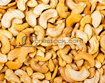 cashew nuts closeup