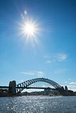 sydney harbour bridge in australia