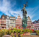 Frankfurt Germany Old City