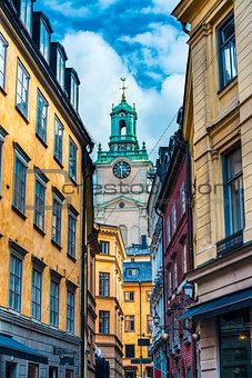 Stockholm Sweden Alley