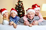 Family of Santas