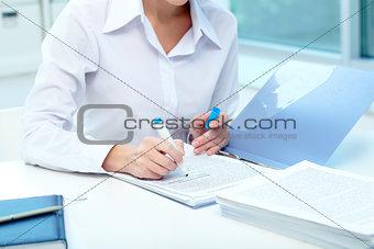 Recruitment test