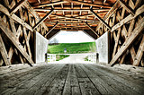 Covered Bridge of Madison County Iowa