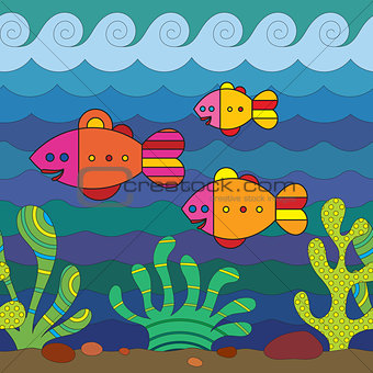Stylize Fishes
