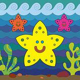 Stylize starfish