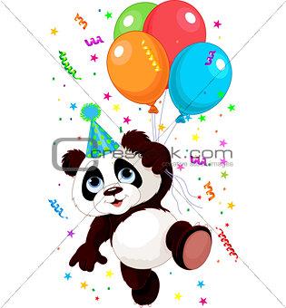 Panda and Balloons