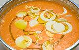 Salmorejo bowl
