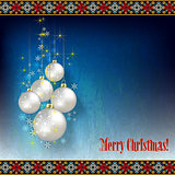 abstract celebration greeting with Christmas tree