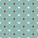 Seamless dots pattern background