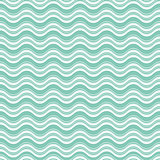 Geometric wave seamless pattern background